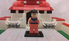 future gohan (teamfourstud) Tags: lego custom dragon z gohan ssj1 ssj 1 super saiyan shapeways shape ways 3d print printed dbz sragonball ball supersaiyan supersaiyan2 2 ssj2 teen cartoon illustration indoor decals decal figure mini minifigure great dragonball dragonballz text future