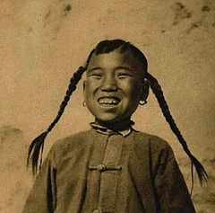 Chinese Girl (~ Lone Wadi Archives ~) Tags: chinese asian asia portrait retro mysterious unknown smiling