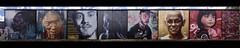 Fitzroy faces (J-C-M) Tags: fitzroy faces street wall art artwork artistic streetart wallart paint painting melbourne victoria australia camscale adnate dvate rone jasonparker heesco sofles