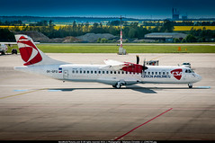 PRG.2016 # OK ATR72 OK-GFQ awp (CHR / AeroWorldpictures Team) Tags: czech airlines csa atr 72500 72212a cn 674 engines 2x pwc pw127f reg okgfq history aircraft 30jul2001 first flight with test fwwet toulouse tls france aug2001 rereg fwqmk 20aug2001 delivered jetairways 9w jai leased safair lease vtjcf config cabin y62 05oct2012 tsfd czechairlines ok planes aircrafts atr72500 at7 atr72 apron planespotting prague ruzyne lkpr prg cz europe nikon d300s zoomlenses nikkor 18135 lightroom lr raw