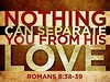 Nothing Separates Us from His Love (Create In Media) Tags: acceptance faithful father forgiveness healing joy peace unconditionallove