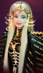 Princess of Northern Constellations (possiblezen) Tags: 3 saint bill doll alien goddess barbie queen fanclub arctic galaxy future northern limited edition constellations exclusive futuristic direct constellation seiya greening