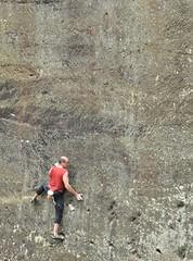The Wall Of Death (Keo6) Tags: wall climb free climber