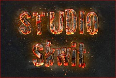 Lava typography (Studio Skwit) Tags: typo typographie studio studioskwit startcafe stevensquid fonts font capital capitals photoshop creative wow fire red special hashtag google facebook twitter experimental effect experiment easy tutorial cs5 try test art typography