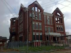 POWELL ELEMENTARY SCHOOL BHAM FOUNDED 1888 (jennyferfaithhope) Tags: abandoned pics maps location plantation ubex abandonedplaces 2012march11 jennyferfaithhope