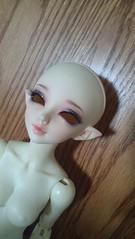 Newest addition to the family (VoltageBoltz) Tags: white ball doll skin bjd fl fairyland msd ws juri jointed mnf minifee pukifee juri08
