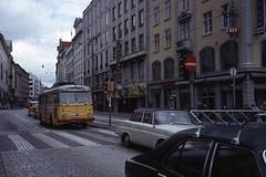 JHM-1977-1156 - Norvège, Bergen, trolleybus (jhm0284) Tags: norvège norvege trolleybus