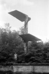 terasy barrandov (kocmonosy) Tags: abandoned film analog 35mm ruins prague praha canonae1program 50mmf18 ruiny barrandov ilfordpan400 terasybarrandov barrandovskterasy mileek