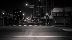 Main Street (A.C.Thamer) Tags: blackandwhite bw downtown empty deserted