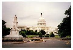 Capitol Hill [scanned] (jimsawthat) Tags: urban washingtondc districtofcolumbia 1999 uscapitol scanned capitolbuilding