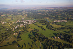Llandeilo from above (Eiona R.) Tags: carmarthenshire wfc flickr10 floatingsensations floatingoverwales