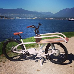 NTS Works 2x4 Cargo Bike (Bhlubarber) Tags: park city urban bike bicycle electric vancouver square crab cargo assist squareformat works load mayfair velo carry mag 2x4 momentum haul nts iphoneography instagramapp uploaded:by=instagram foursquare:venue=4aaaf0f4f964a5202a5820e3