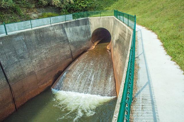 Lake Monroe Dam - September 2013