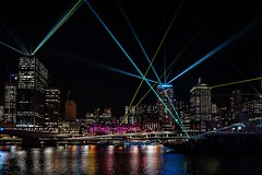 Santos GLNG City of Lights, Brisbane (Geoffsnaps) Tags: lighting city beautiful festival spectacular fire lights nikon pretty colours natural g 28mm australia brisbane gas southbank santos queensland laser sensational f18 shining gladstone beams afs parklands cityoflights mesmerising riverfire 2013 liquefied brisbanefestival d700 glng santosglngcityoflights 28mmf18gafs gladstoneliquefiednaturalgas glndgladstoneliquefiednaturalgas