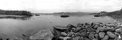 Sassaie in bianco e nero (_milo_) Tags: bw italy lake canon lago eos italia lac panoramica maggiore rocca paesaggio biancoenero manfrotto santuario oasi angera borromeo 18135 treppiede 60d bruschera