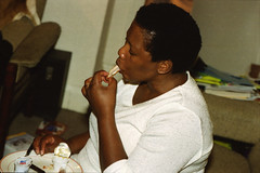 Mbongi from Durban South Africa Eating Chicken Feet Bones Havercourt London Aug 2000 006 (photographer695) Tags: south africans eating chicken bones aug 2000 mabongie mbongi from durban africa feet havercourt london