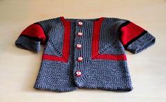 Baby Surprise Jacket (Varant) Tags: baby wool knitting merino yarn jacket surprise zara bsj