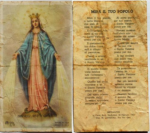 Immaculata Conceptio 1929