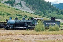 Denver & Rio Grande Western Locomotive 498, Silverton, Colorado (StevenM_61) Tags: railroad train colorado silverton railway locomotive tender steamlocomotive durangoandsilverton drgw denverandriograndewestern