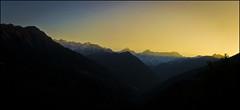 of cusps... (parth joshi) Tags: mountains nature sunrise trekking dawn peaks pure himalayas uttarakhand nandakot dhur bagehswar