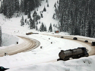 Plow truck accident