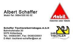 Tischlerei Schaffer