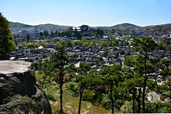 Kaesong Old Town (dabananabunch) Tags: old city skyline buildings town ancient nikon village traditional north gimp korea du korean stadt altstadt vr nord afs dx core koreanisch dprk f3556g hanok  kaesong nordkorea     18105mm d5200