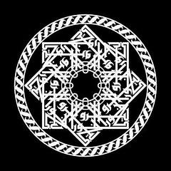 gelora_biru-01-01 (REKA KUFI) Tags: calligraphy jawi khat fatimid kufi fatimi