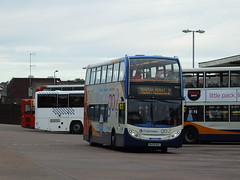 WA08NOU Exeter Bus Station (realales109) Tags: west bus station 1 south exeter 400 older nou stagecoach enviro newer 19323 wa08 wa08nou