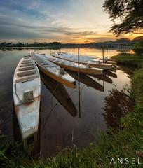 Lower Seletar Reservoir 2013 (draken413o) Tags: travel sunset boats singapore asia reservoir destination lower hdr seletar waterscapes vertorama