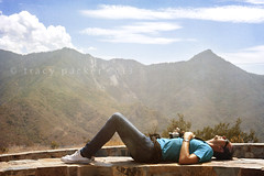 Being a tourist is exhausting! (Trapac) Tags: sky man mountains male tourism sunglasses wall clouds person photography scenery photographer relaxing tourist m jeans tired views figure g1 g2 resting reclining g3 viewer sierranevada viewpoint viewing teeshirt sunbathing touristattraction sequoianationalpark lyingdown sequoianationalforest supine g1214 gettymomentcreativecollection g0514 g0115
