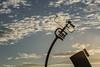 Pier Head Telescope (greggp82) Tags: sunset england liverpool unitedkingdom telescope pierhead challengeyouwinner