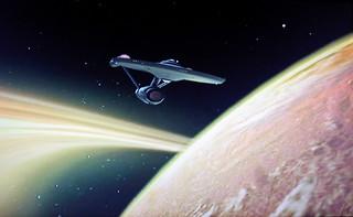The Enterprise Star Fleet space ship - Star Trek 0919