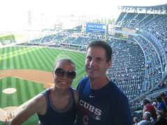 """Christie and Derek at the Cubs/Sox Game • <a style=""""font-size:0.8em;"""" href=""""http://www.flickr.com/photos/109120354@N07/11047116104/"""" target=""""_blank"""">View on Flickr</a>"""