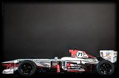 Rush II (Wade Brooks) Tags: car race toy lego technic 2013 42000 grandprixracer