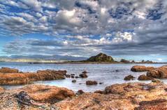 Island Bay (www.cornelia-schulz-photography.com) Tags: sea newzealand summer sky island nz wellington northisland hdr islandbay vision:sunset=063 vision:beach=0641 vision:outdoor=0887 vision:clouds=0928 vision:ocean=0715 vision:sky=0956