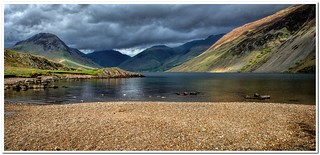 Wast water sunlight