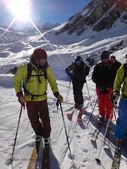 DSC02777 Val d'Isere 2013 12 - Skiing with Patrick: Tour du Charvet (John PP) Tags: winter party ski france skiing premier valdisere offpiste scgb 2013 vision:outdoor=0743