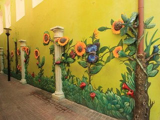 Wall Art - Willemstad Capital City of Curacao Dutch Antilles