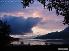 Tramonto sul lago di Caldonazzo 2003 02