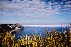 Sole, mare, nebbia e nuvole... (raffaphoto) Tags: sea italy cloud sun fog nuvole mare sole nebbia conero marche rivieradelconero dicembre2013