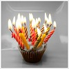 More candle than cake (Free 2 Be) Tags: birthday cake flickr candles flame celebrations cupcake celebrate 2013 stockcategories 113picturesin2013 113in2013