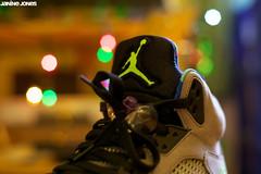 "nike air jordan v ""bel air"" (thatgirlwiththekicks) Tags: pink blue green belair yellow grey shoes neon purple 5 five air sneakers trainers nike retro jordan v runners kicks 23 freshprince oldskool 90s jumpman fives jordans belairs"