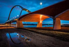 Oversteek @ Blue hour (80D-Ray) Tags: nijmegen nederland gelderland