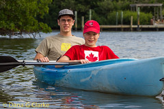 Christopher and Andrew Kayaking in Tarpon Bay, Ding Darling National Wildlife Refuge (DanaGC) Tags: kayak christopher paddle andrew kayaking paddling watersport tarponbay paddlesports tarponbayexplorers