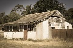 Wonder if someone lives here... (*annajane*) Tags: old house tile nikon mood cottage oldhouse tone westernaustralia weatherboard asbestos d3200 louvrewindows d3200nikon