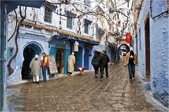 Two stars on the right. Chefchaouen. Morocco (zanzibarcordoba) Tags: morocco maroc chaouen chefchaouen marruecos xauen
