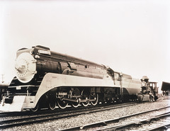 [Southern Pacific Co., Engines 4412, Daylight, and 1, C. P. Huntington] (SMU Central University Libraries) Tags: railroad train trains sp locomotive locomotives railroads steamlocomotive tenders southernpacificrailroad