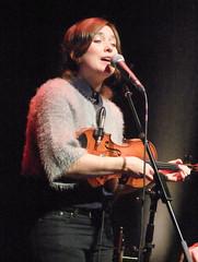 Lisa Knapp 02 (oldfirehazard) Tags: cambridge music concert folk live duo gig junction violin fiddle february 2014 lisaknapp gerrydiver