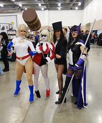 DSFE2014_D2-28 (Cutterin) Tags: dc cosplay adamhughes comiccon huntress harleyquinn zatanna powergirl cutterin dallasscifiexpo2014
